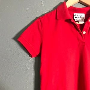 81a0781f7 Lilly Pulitzer Shirts   Tops - Lilly Pulitzer Girls Red School Uniform Polo  Sz S